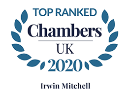 Top Ranked Chambers & Partners 2020 logo